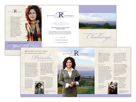 real estate brochure sample